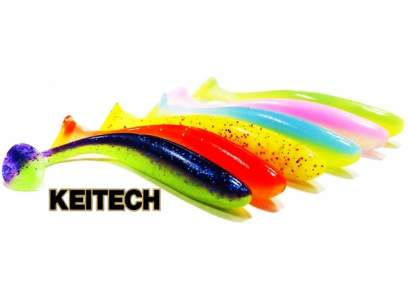 "Keitech Easy Shiner 4/"" Problue Pepper"