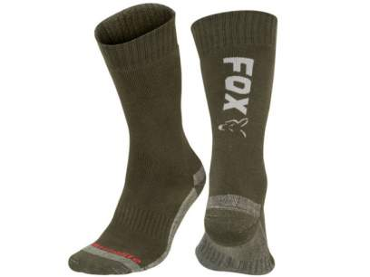 Sosete Fox Collection Socks Green and Silver