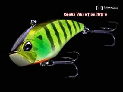 Vobler DUO Realis Vibration 55 Nitro 5.5cm 11.5g DPA3299 Blue Lime S