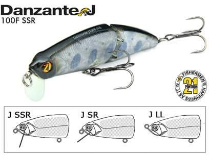Vobler Pontoon21 Danzante SSR 10cm 17.1g 802 F