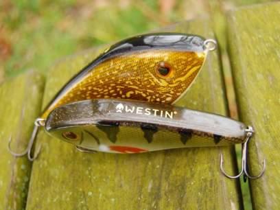Vobler Westin Swim 10cm 34g Golden Splash S