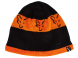 Caciula Fox Black and Orange Beanie